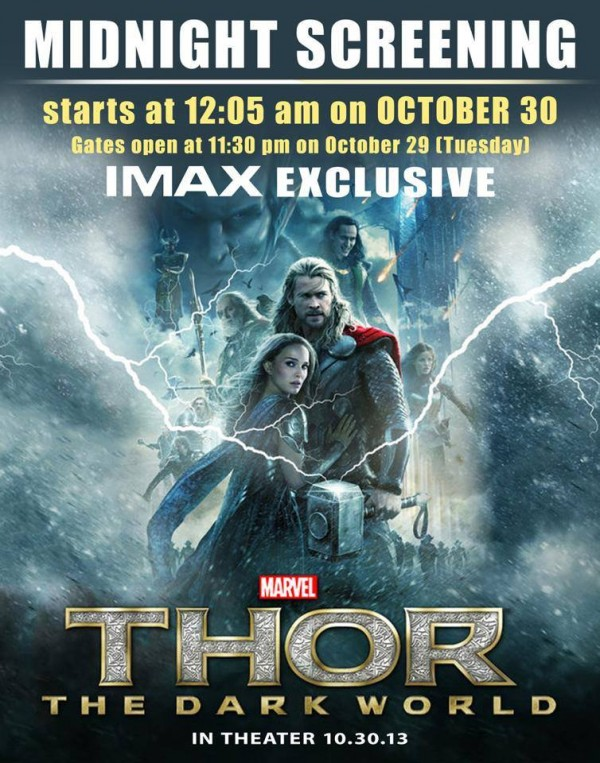 Thor The Dark World midnight screening at SM Lanang Premier