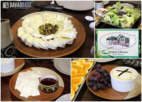 Drool-worthy artisan cheeses at Malagos Farmhouse