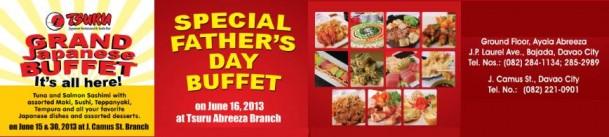 Tsuru Fathers Day buffet