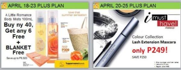 tupperware promo surprises plus plan discounted items