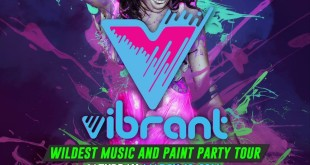 vibrant paint and music festival 2016 poster