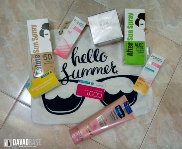 watsons make your summer hello summer products