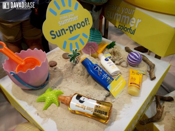 watsons make your summer sun-proof products