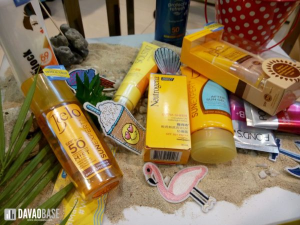 watsons make your summer sunscreen products