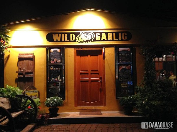 wild garlic restaurant davao city