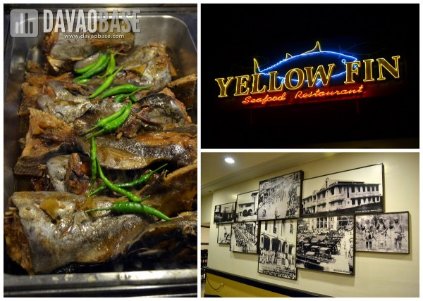 yellow fin seafood restaurant quimpo boulevard davao city